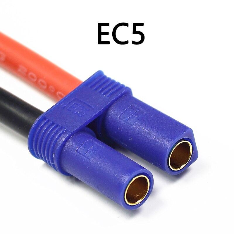 2 шт. HRB 3S 5200 мАч Lipo батарея 11,1 В 50C XT60 XT90 TRX EC5 разъемы T Deans для RC лодки квадрокоптера внедорожные Автомобили Запчасти DIY - Цвет: EC5