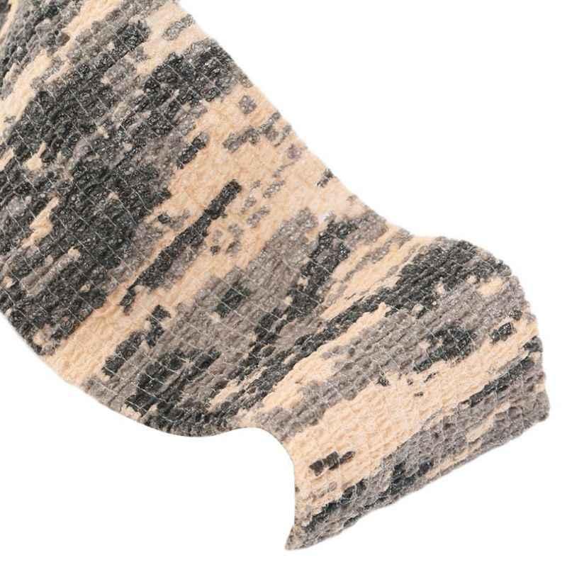 4.5 メートル自己粘着迷彩ストレッチ医療包帯不織布保護テープタトゥーアクセサリー