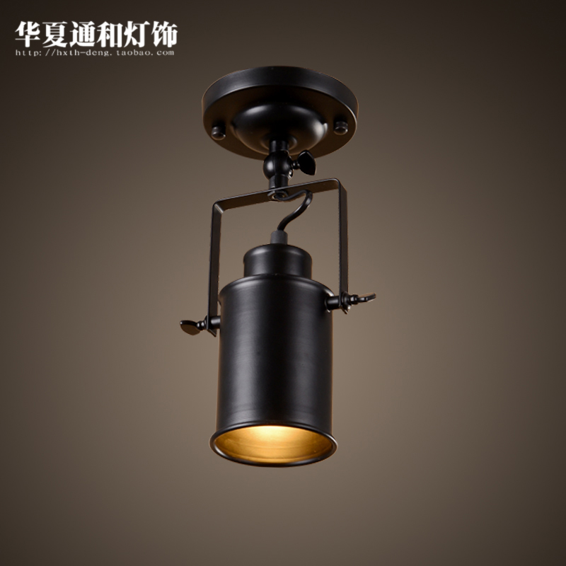 ФОТО American style light industrial creative living room bar clothing store personalized LED ceiling light