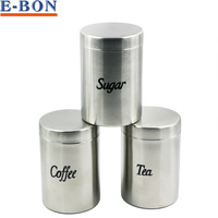 Direct Factory 2Sets 304SS Seal Pot Storage Tank Storage Container Jar Set High Quality Drop Free