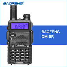 BAOFENG DM-5R Walkie Talkie DMR Digital Radio UV5R Upgraded Version VHF UHF 136-174MHZ/400-480MHZ 2000mAh Portable Walkie Talkie