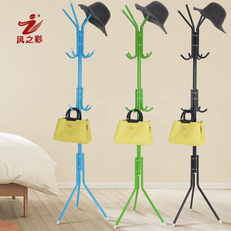 2016 New Coatrack floor hanger bedroom floor racks, non wood special offer fashion simple coatrack вешалка coatrack 20х70х28