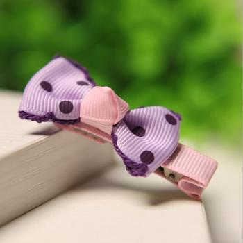 600pcs/lot Blue Purple Polka-dot Ribbon 1