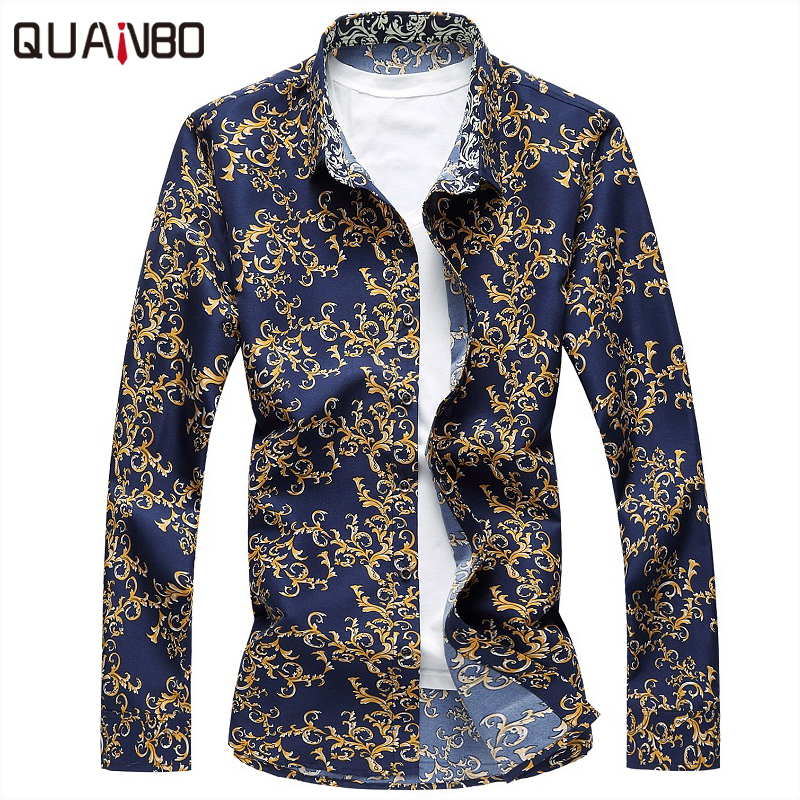 2017 new arrivals plus size 6xl 7xl mens floral shirts for Latest shirts for mens 2017