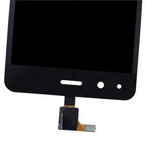 Image 3 - 4,5 zoll Für BQ Aquaris M 4,5 LCD Display Touch Screen Montage Zubehör Glas panel Für Aquaris M 4,5 touch Panel Reparatur kit