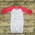 Пустой бутик Newbown детские сна платье долго младенческой обледенения реглан платья упругие детская одежда пижамы платья