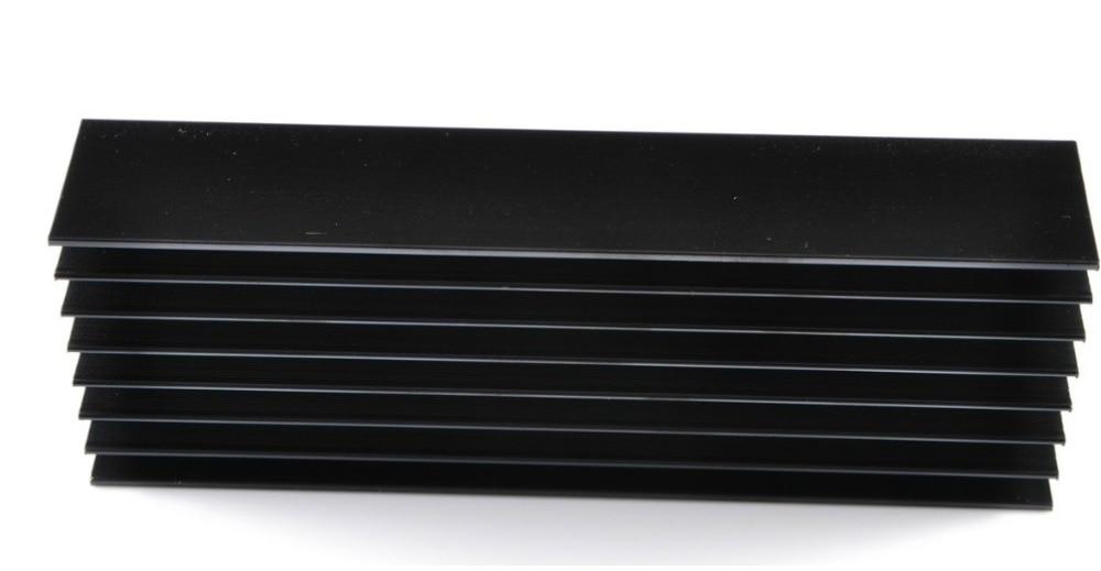 aluminum heatsink black l15 tube power amplifier heat sink 160mm 30mm 55mm in amplifier from. Black Bedroom Furniture Sets. Home Design Ideas