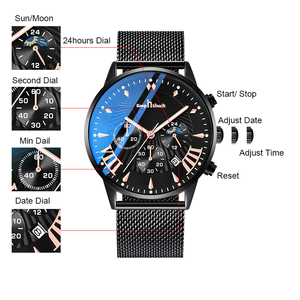 Image 3 - KEEP IN TOUCH relojes para Hombre, de cuarzo, informal, resistente al agua, deportivo, con fecha, Masculino