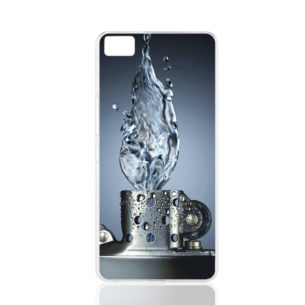 Case Design zippo phone case : 17984 Water Zippo Lighter Abstract cell phone Cover Case for BQ ...