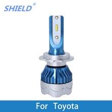 цена на 2 Pcs Car LED Headlight Kit H4 H7 led 9006 9005 H1 H3 12000LM CSP Chips  For Toyota Corolla Camry Yaris Prius Kluger RAV4 Venza