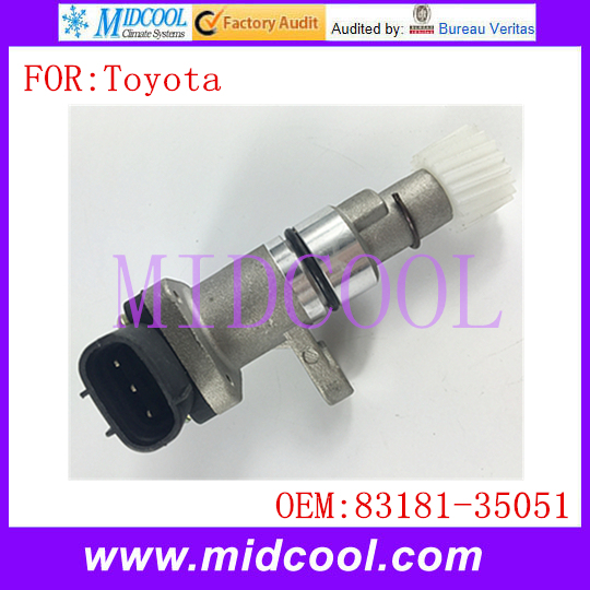 Novo Veículo Sensor de Velocidade Do Odómetro uso OE Não. 83181-35051 para Toyota