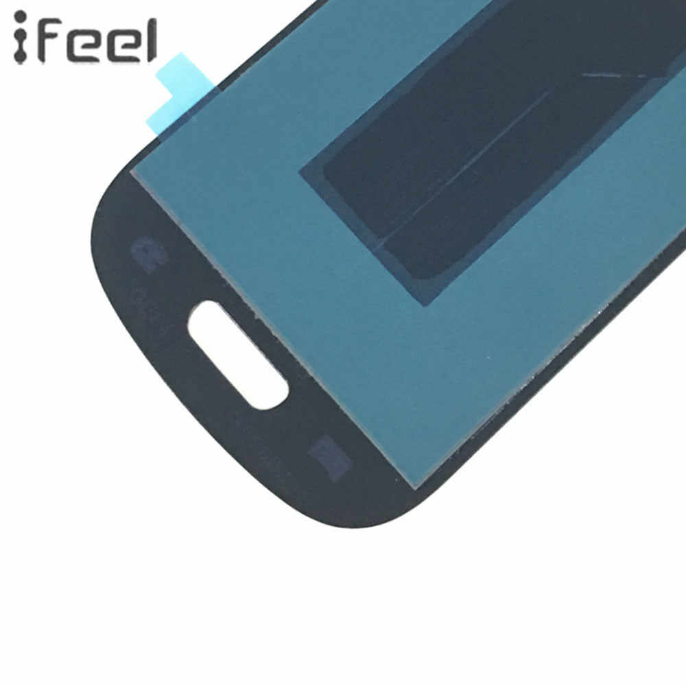 Siento 100% probado pantalla LCD digitalizador de pantalla táctil Reparación de Samsung Galaxy S III S3 Mini I8190 I8190N I8195 Super amoled