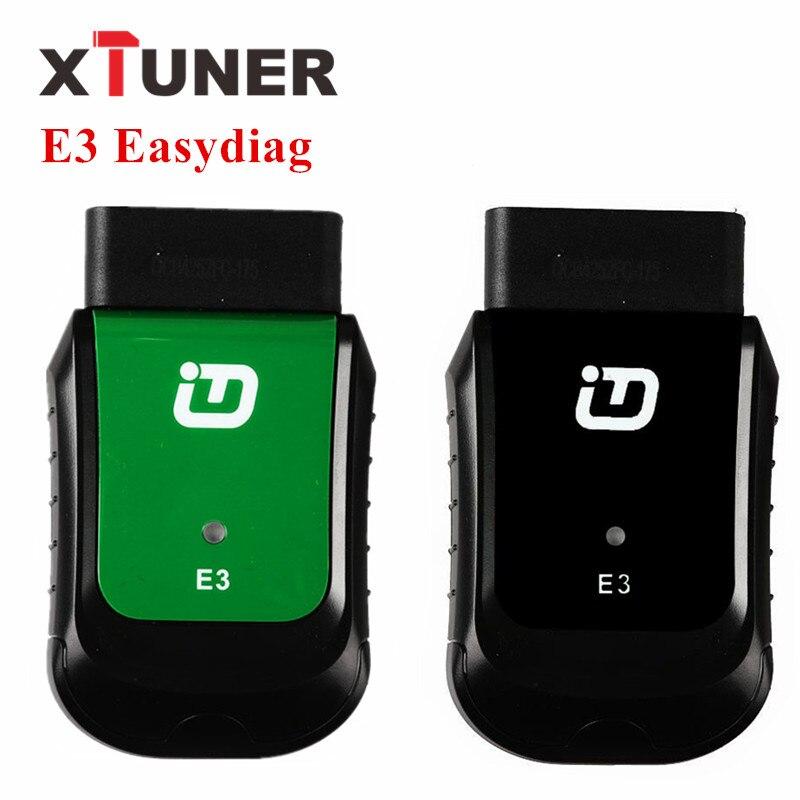 XTUNER E3 Easydiag Plein OBDII Outil De Diagnostic WIFI Automobile Scanner Pour L'asie, amérique, Europe, australie Véhicule