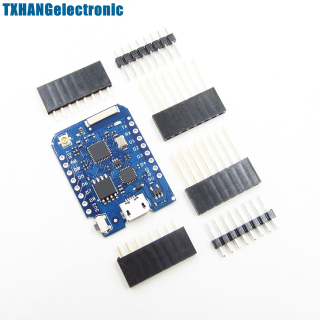 FOR WEMOS D1 Mini Pro - 16M Bytes External Antenna Connector ESP8266 WIFI IoT Board