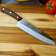 Free Shipping MIKALA Stainless Steel Japanese Style Kitchen Knife Chef Slicing Knife Fruit Vegetable Knives Santoku Knife
