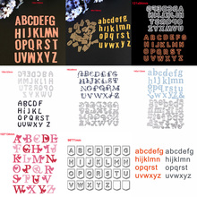 HamyHo 26 Alphabet Letter Metal Steel Cutting Dies Stencil For DIY Scrapbooking Photo Paper Card Embossing Template Cutter Craft