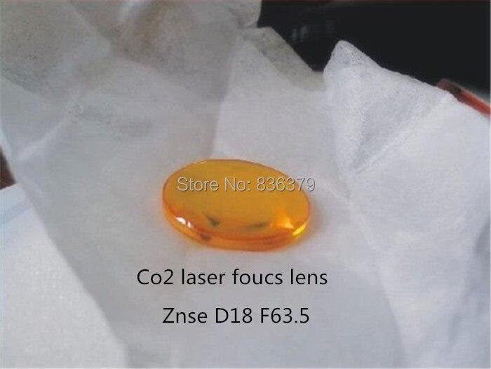 Cheap 18mm ZnSe Focus Lens laser for CO2 Laser 63 5mm focal laser lens for laser