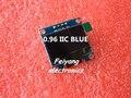 "1 pcs 0.96 ""azul 0.96 polegada OLED Novo módulo 128X64 LCD OLED Display LED Módulo Para Arduino 0.96"" I2C IIC Comunicar"