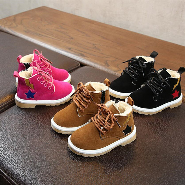 MHYONS 2019 New child snow boots shoes for girls boys boots fashion soft  bottom baby girls 3b9cb58732d9