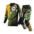 Deportes Ropa protectora Scoyco P033 + T200 motocicleta Motocross jersey set camisa del juego de carreras off-road pantalones pantalones de montar