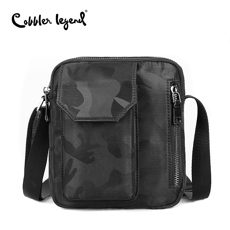 Cobbler Legend Camouflage Men Travel Bag Casual Messenger Crossbody Bag Casual Mens Handbag Bags for Gift Brand Shoulder Bag