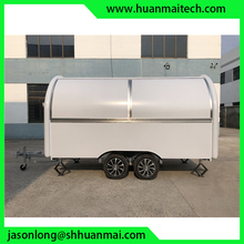 Mobile Catering Food Trailers bbq Cheap Concession
