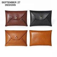 Coin purse Retro Business card case Genuine Leather Vintage name & id & credit card holder mini Purses Small wallet money bag|coin purse|mini pursepurse small -