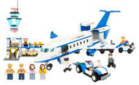 Models building toy 8912 City International Airport Blocks 652pcs Building Blocks compatible with lego city toys & hobbies