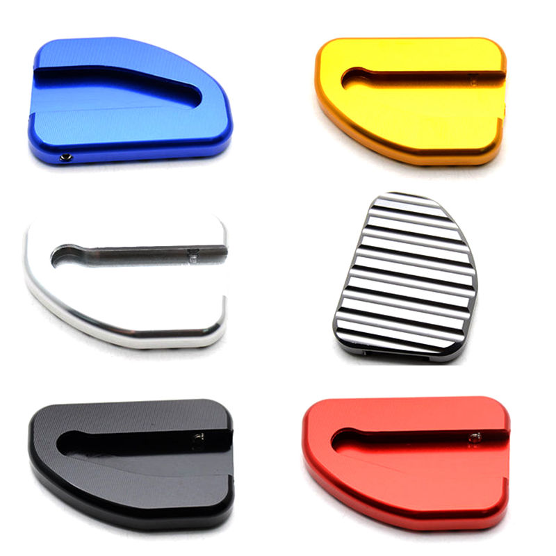 6 Color Motorcycle CNC Side Kickstand Stand Extension Plate For Honda Goldwing 1800 GL1800 2002 2017