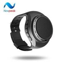 1 шт. nevpeak Часы Bluetooth Динамик с Радио Функция стерео Руки одежда спортивные MP3