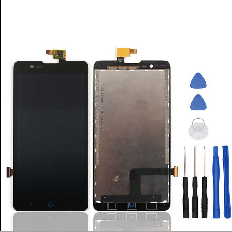 100% test Black Full 5 inch For ZTE Blade HN V993W l3 plus LCD Display with Touch Screen Digitizer Assembly Replacement