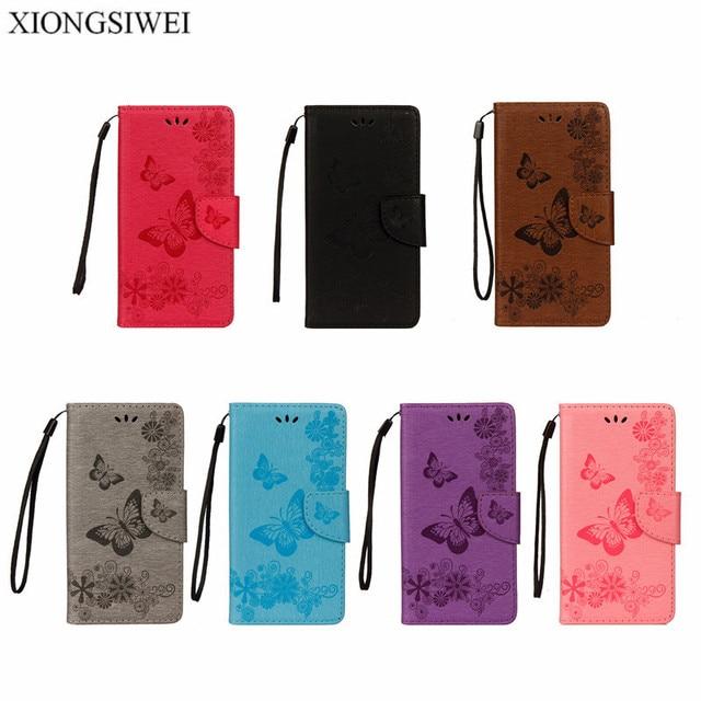various colors de12f ad6cf Phone Case For Samsung Galaxy J4 2018 J400F SM-J400F Case Leather Flip  Cover Butterfly case For Samsung Galaxy J4 case cover