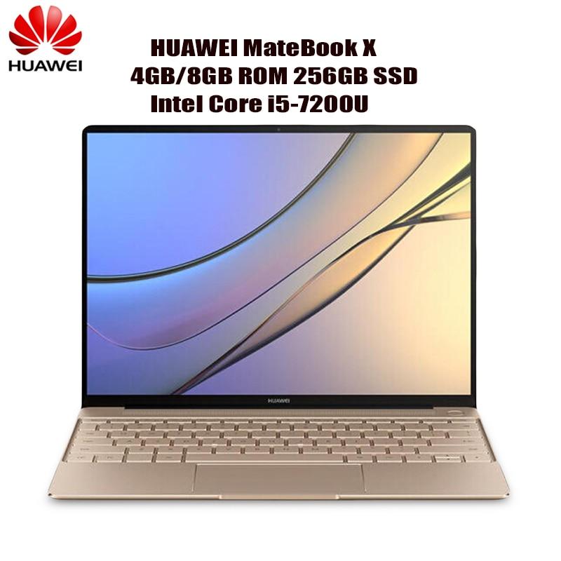 Huawei MateBook X Notebook 13.0 Inch Intel Core I5-7200U 4GB 256GB SSD Computer