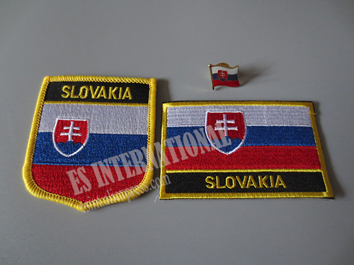 US $1 99 |National Flag Embroidery Patches and Metal Flag Lapel Pin  SLOVAKIA-in Patches from Home & Garden on Aliexpress com | Alibaba Group