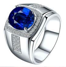 Hot Sale Women Men Cubic Zirconia Rhinestones Inlaid Ringer Ring Fashion New Wedding Gift Finger Jewelry