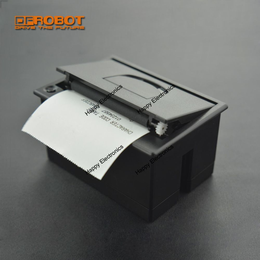 DFRobot Embedded Thermal Printer with USB TTL interface 5 9V compatible with Arduino Raspberry Pi and
