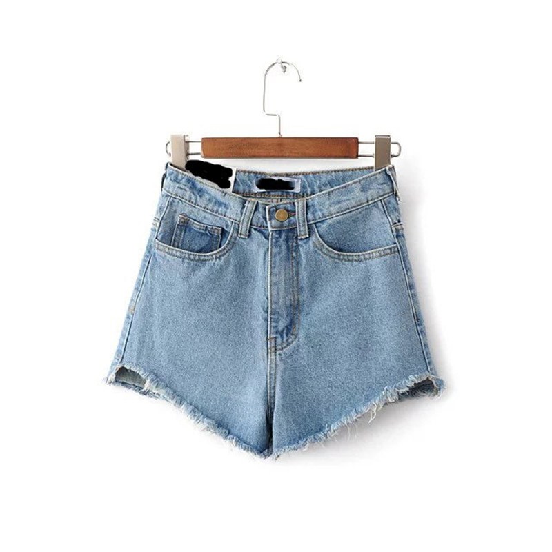 2019 Women Summer Beach Gym Sports Denim Jeans Shorts Casual Short Pant