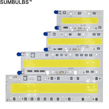 150W 100W 70W 50W 30W LED Floodlight Source COB LED Chip On Board Bulb with font