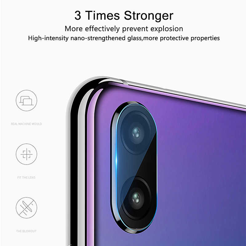 P20 Lite Glass For Huawei P30 Pro Glass Tempered Camera Lens Screen Protector on Huawei P Smart 2019 Smart+ Plus Z P10 Film 2Pcs