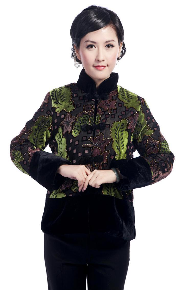 ffa2b97f07f49 Moda pamuk ceket Çin kadın giyim Bayanlar kış Ceket Ceket Giyim Takım Elbise  Boyutu M L XL XXL XXXL 4XL t2366-A