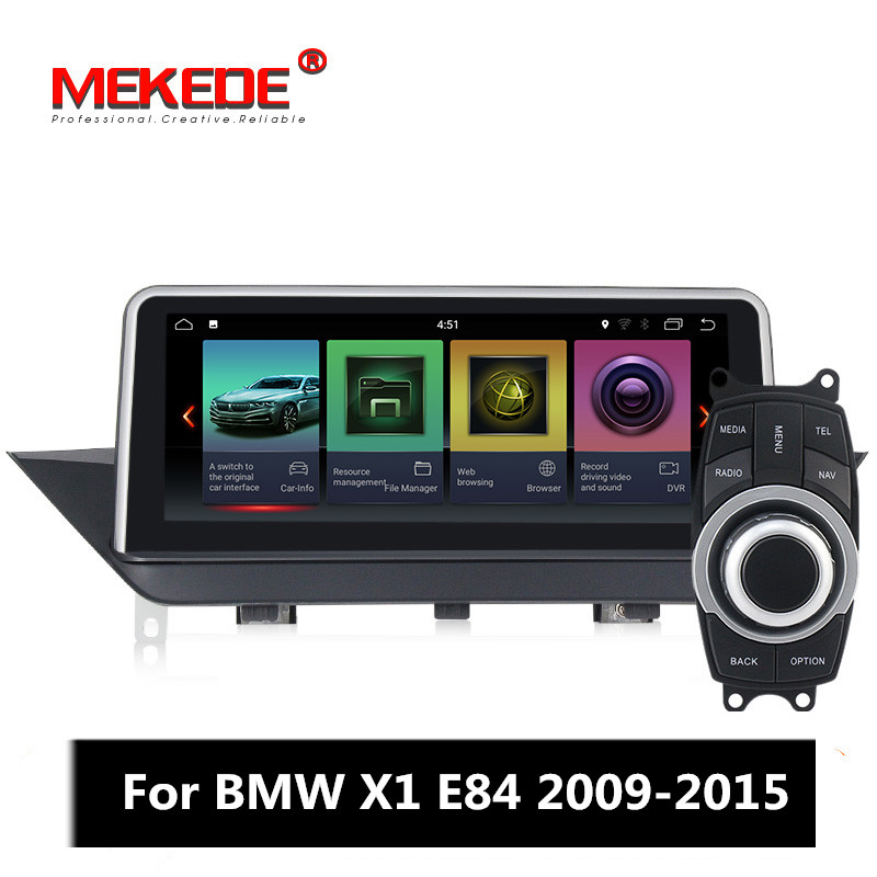 Mekede IPS car radio player for BMW X1 E84 2009-2015 with android 7.1 2GB+32GB car GPS navigation vehicle multimedia system image