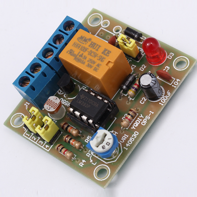 OPS-1 DIY Light-Operated Switch Kit Light Control Switch Photosensitive Electronic Circuit Production Funny Suite DC 5~6V колонка interstep sbs 150 funny bunny light green