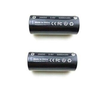 26650 Original 5000 mAh 3,6 V 18Wh Li-po batería para Feiyu G6 (FY Feiyutech G6 batería) accesorios de piezas de repuesto cardán
