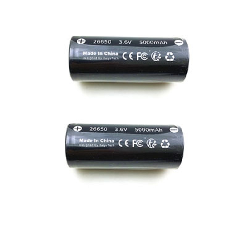 все цены на Original 26650 5000mAh 3.6V 18Wh Li-po Battery for Feiyu G6 (FY Feiyutech G6 Battery ) Gimbal Spare Parts Accessories онлайн