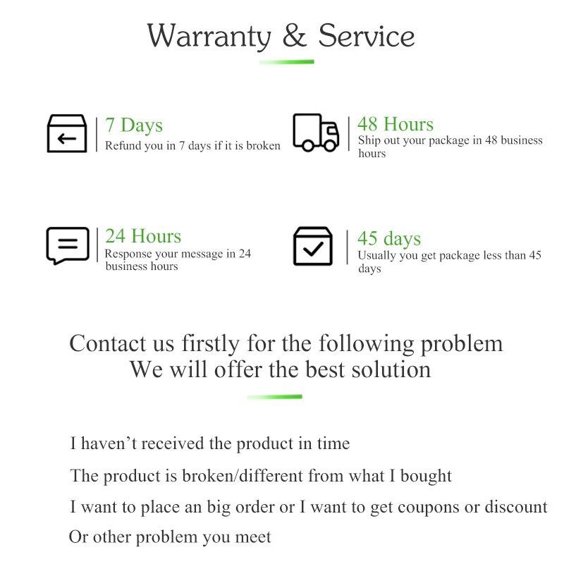 warranty-&-service