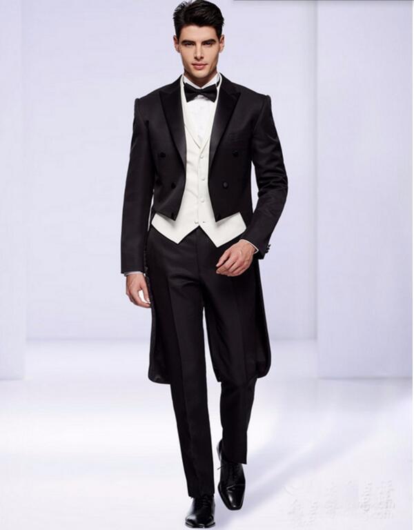 Aliexpress Com Buy Folobe Custom Made Black Men Suits