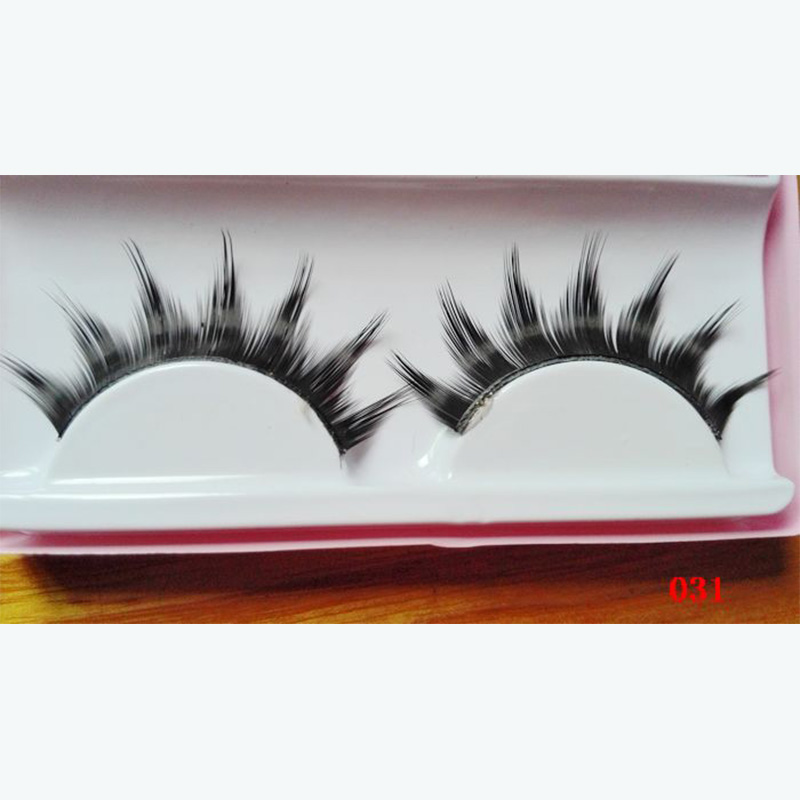 5 Pairs Hand-made Natural Looking Thick Long Short False Eyelashes fake eye lashes makeup beauty tools 031#