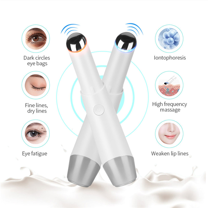 Mini Ion Photon Therapy Eye Massager High Frequency Massage Device Eye Lifting Anti Aging Smart Inductive Beauty Instrument P49
