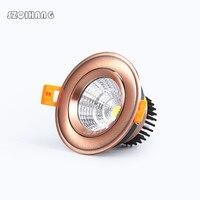 Super Bright LED Epistar COB Recesso Downlight Dimmable 20 15 10 7 w w w w CONDUZIU a Luz do Ponto Do Teto lâmpada de Iluminação Para Casa