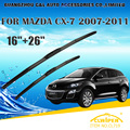 "Escovas Para MAZDA CX-7 (2007-) 2008 2009 2010 2011 2012 2013 2014 Car Windscreen Windshield Wiper Wiper Blade 26 ""+ 16"""